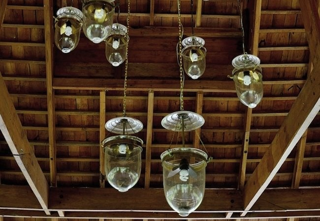 Clean a Light Fixture with Denture Tablets