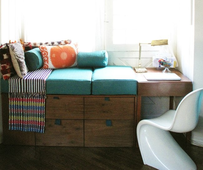 DIY Window Seat - Bohemian
