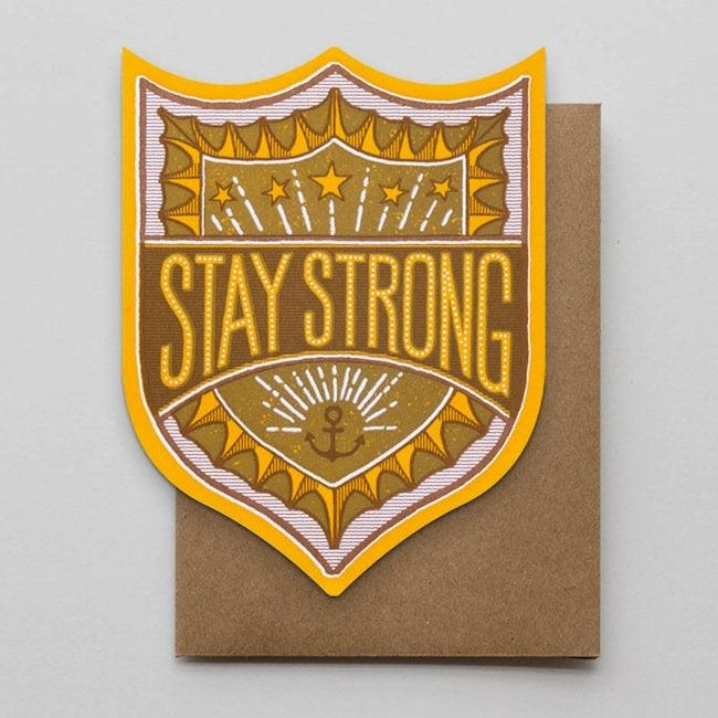 Hammerpress - Stay Strong Badge