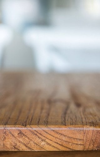 Renew Wood Finishes with Mineral Spirits - Table Detail