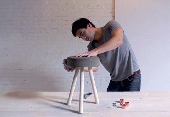 How to Make a Concrete Stool