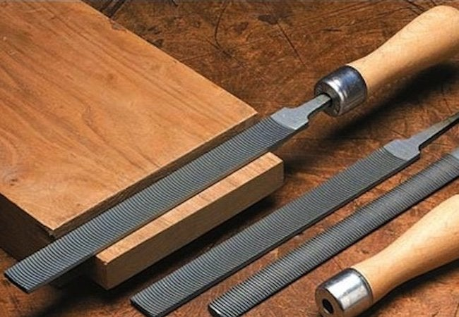 How to Use a Wood File - Filing Tools