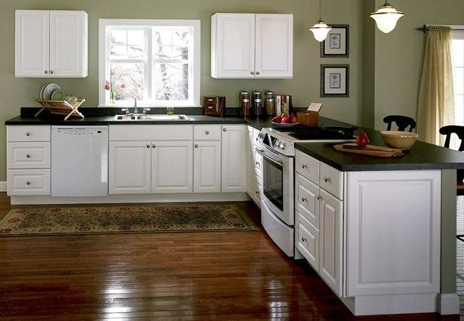 Quick-Ship Assembled Cabinets from Home Depot - Hampton