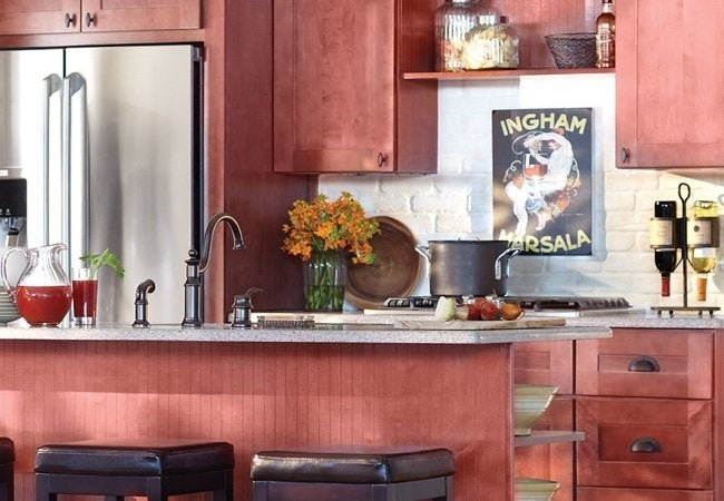 Quick-Ship Assembled Cabinets from Home Depot - Kingsbridge