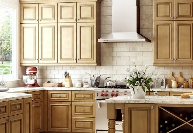 Quick-Ship Assembled Cabinets from Home Depot