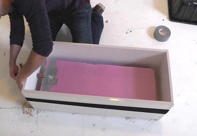 How to Make a Concrete Planter - Step 3