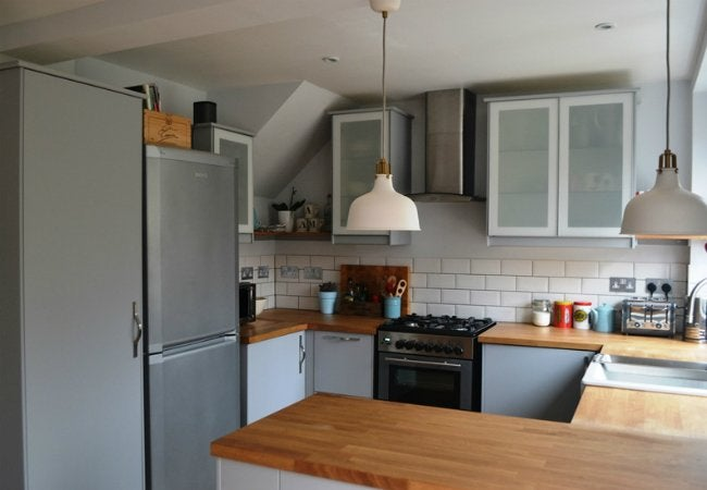70s Kitchen Makeover - Use of Space