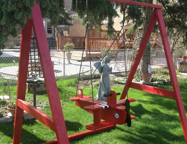 DIY Swing Set - A-Frame