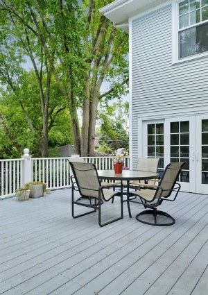 How to Clean a Deck - Finished