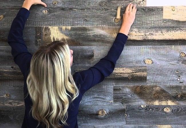 Stikwood - Wall Installation