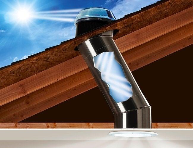 How to Choose a Skylight - Tubular Skylight Illustration