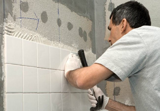 How to Cut Cement Board - Used in Tile Projects