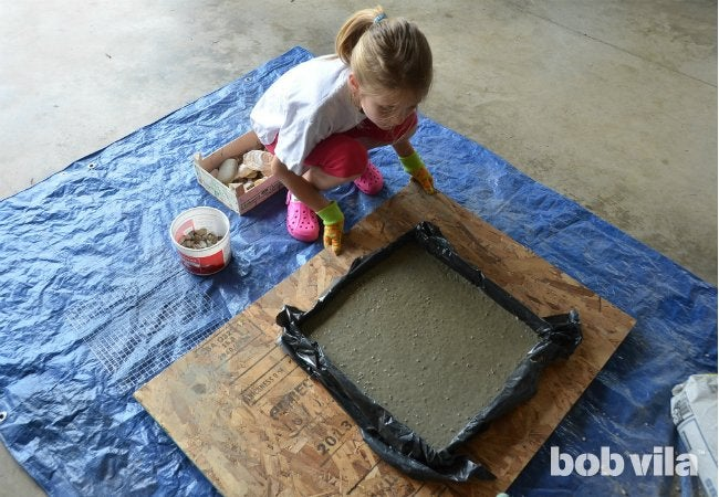 DIY Stepping Stones - Step 3