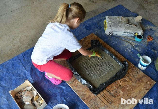 DIY Stepping Stones - Step 4