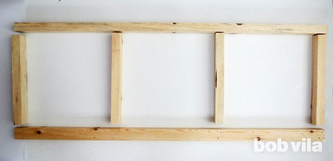 DIY Outdoor Bench - Lumber Cuts