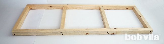 DIY Outdoor Bench - Complete Seat Frame