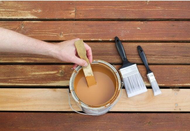 Staining Pressure Treated Wood