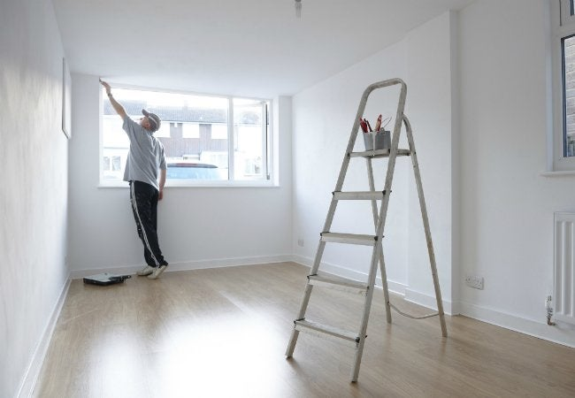 How to Get Rid of Paint Smell - Painting a Room
