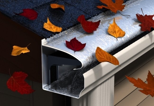 Never Clean Gutters Again - No Clogs