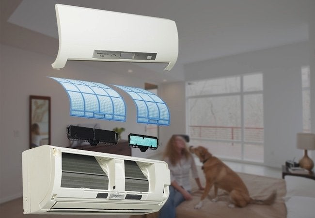 Ductless HVAC Benefits - Air Quality Comfort
