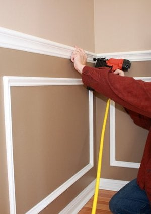 How To Install Chair Rail Molding Diyer S Guide Bob Vila