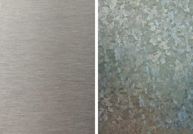 Galvanized Steel vs Stainless Steel