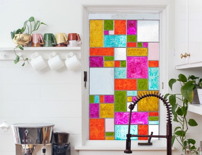 DIY Stained Glass - Window