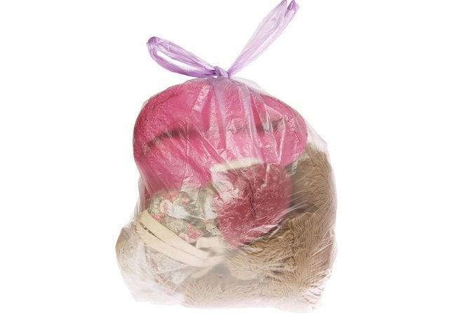 Best Way to Dust - Trash Bag