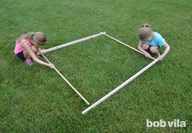 DIY Tent - Square Base
