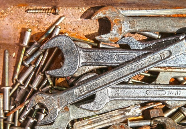 How To Remove Rust From Tools