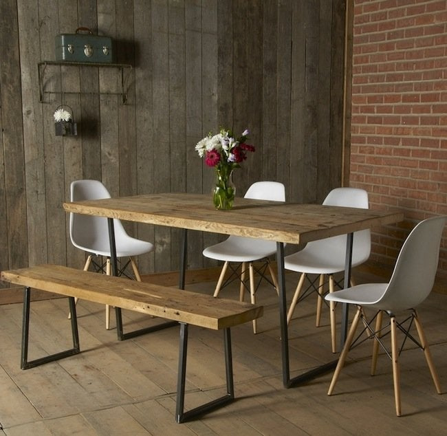 Rustic Dining Table - Urban Wood Goods
