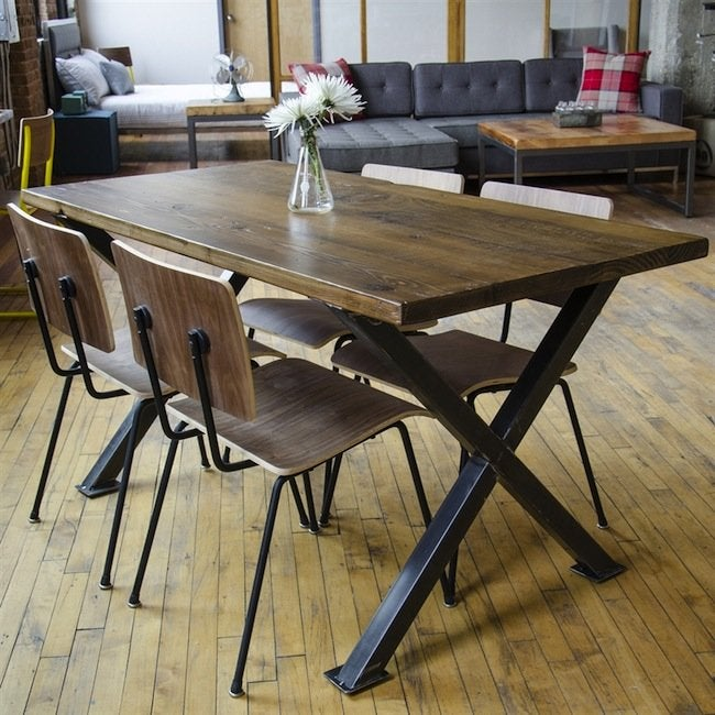 Urban Wood Goods - Dining Table Chairs