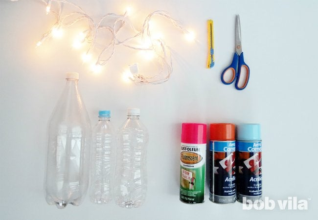 DIY Outdoor Lighting - Supplies