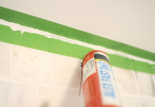 Uses of Ice - Smoothing Fresh Caulk