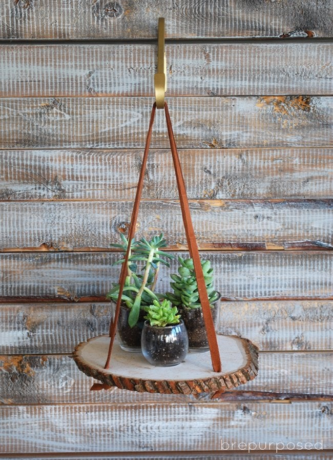 wood plant stand step 4