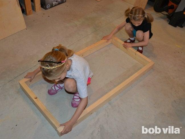DIY Cornhole - Step 01