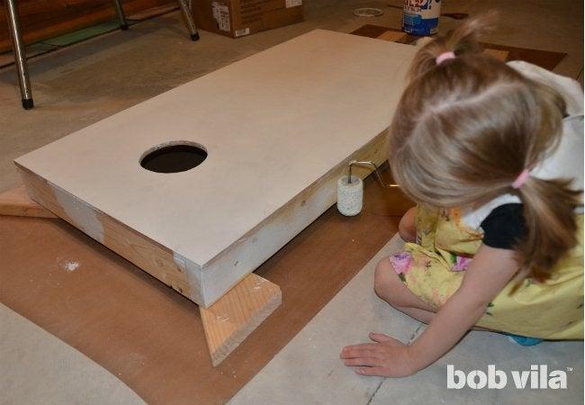 DIY Cornhole - Step 08