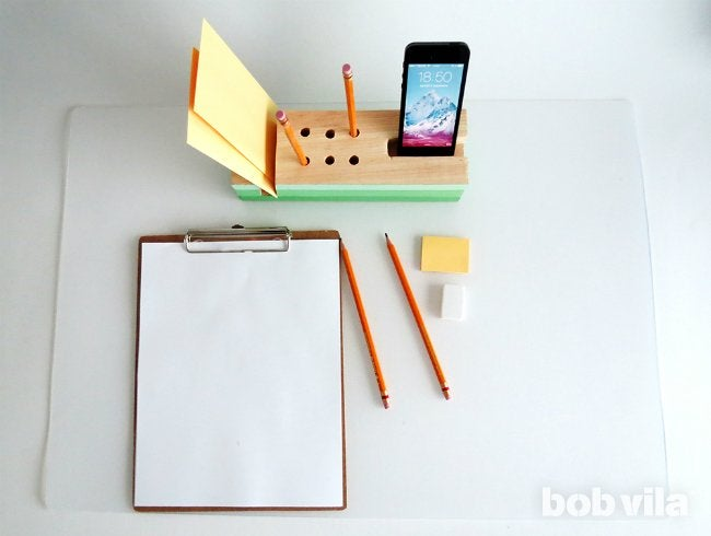 DIY Desk Organizer - Final Project