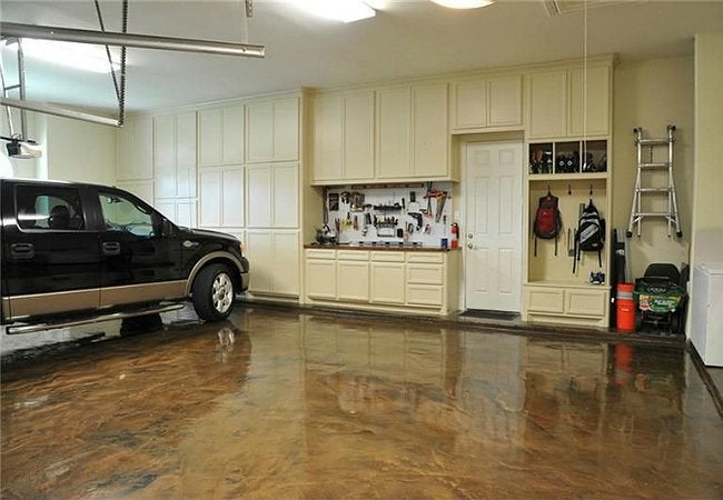 How To Paint A Garage Floor Project, What To Paint Garage Floor With
