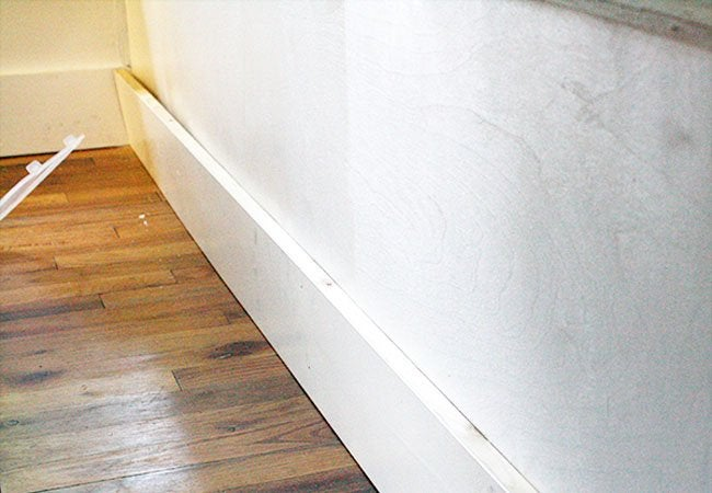 custom banquette step 5