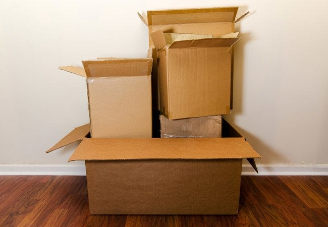 Where to Get Free Boxes - cardboard boxes