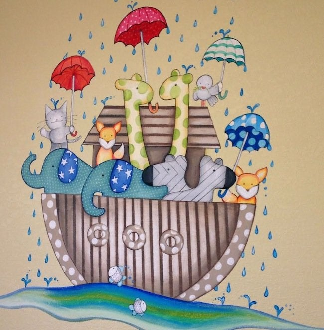 Mural Artist - Noah's Ark Mural