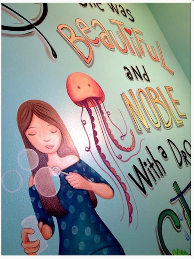 Mural Artist - Noble Mural