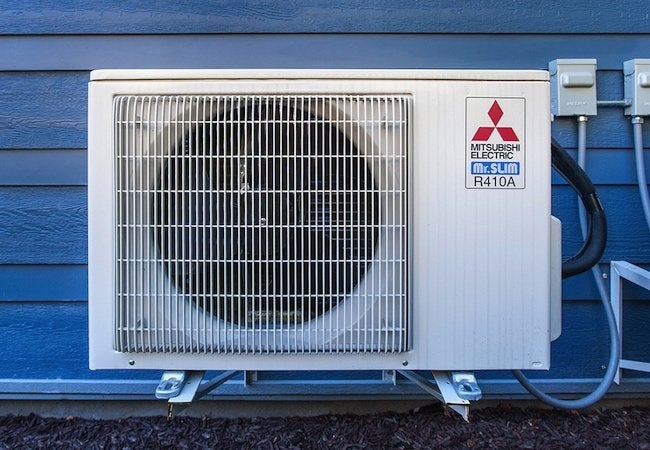 Ductless Mini Split Systems - Outdoor Unit Isolated