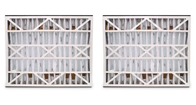 Replacing HVAC Filters - Side by Side Pleated Models