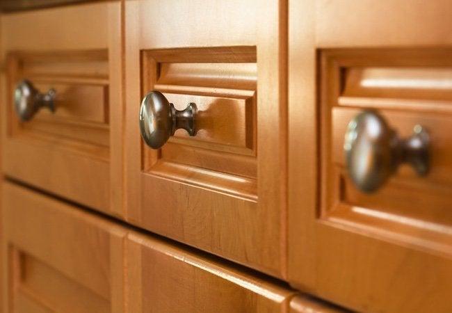 Kitchen Cabinet Refacing vs Replacing - Drawer Hardware