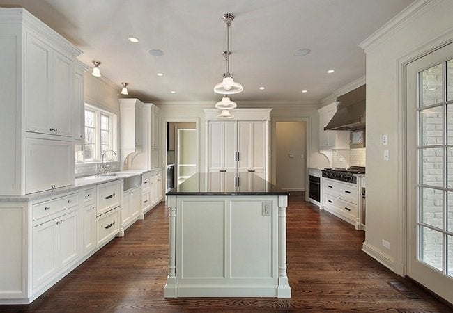 Kitchen Cabinet Refacing vs Replacing - White Cabinetry