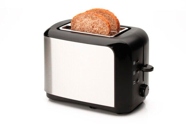 Toaster İsolated On White