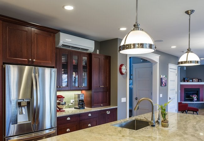 Zoned Cooling and Heating - Kitchen Unit