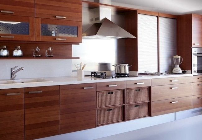 Kitchen Cabinet Refacing vs Replacing - Modern Cherry Cabinetry
